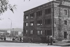 Строительство ЦУМа конец 70-х. Вид сбоку