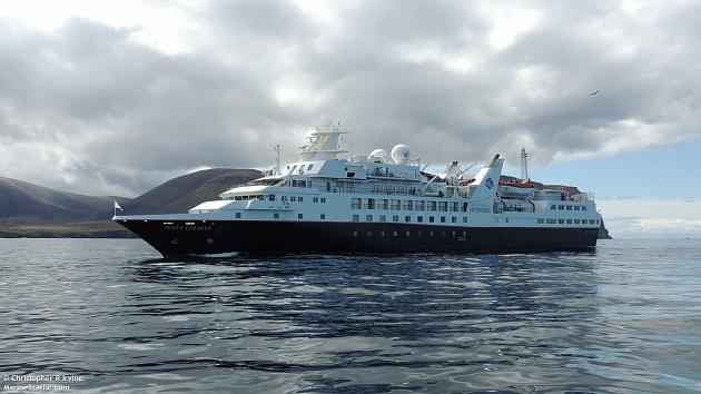 25 июня в порт Петропавловска-Камчатского зашёл круизный лайнер «Silver Explorer» под флагом Багамских островов