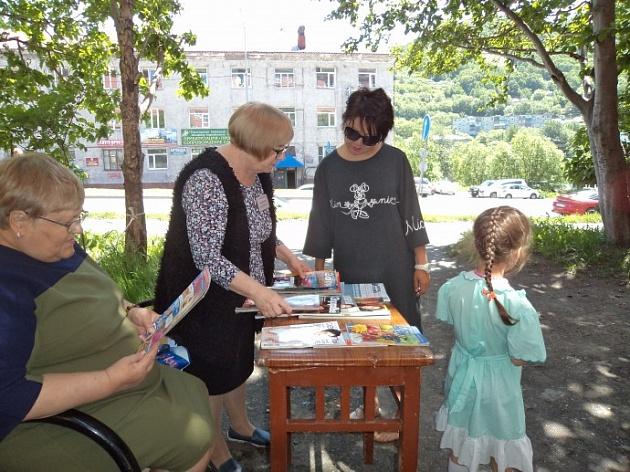 Городская библиотека Петропавловска приглашает в «читальный зал» под открытым небом