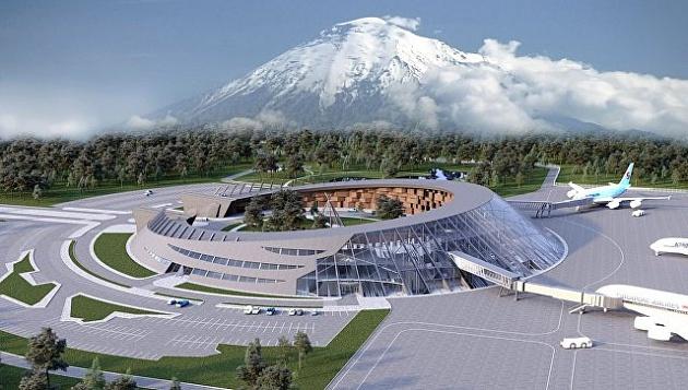 На Камчатке прошла церемония закладки памятного знака на месте строительства нового аэровокзала