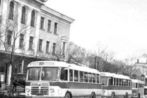 Петропавловск-Камчатский, улица Ленинская, фото 1950-1970-х гг.