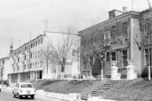 Петропавловск-Камчатский, улица Советская, фото 1950-1970-х гг.