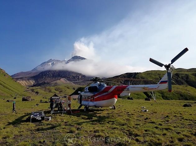 Ключевскую группу вулканов увидят посетители аттракциона в столичном парке «Зарядье»