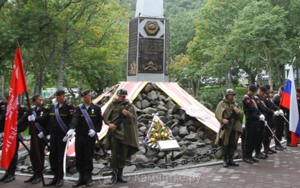 Памятные мероприятиях, посвященных 73-ой годовщине окончания Второй мировой войны