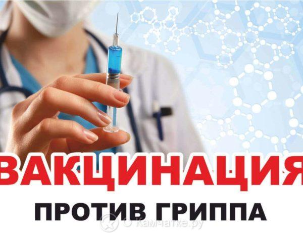 Вакцинацию от гриппа пройдут более 140 тысяч жителей Камчатки