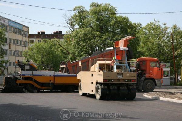 В Петропавловске-Камчатском в этом году будет отремонтировано больше дорог, чем планировалось