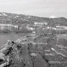 Петропавловск-Камчатский, строительство площади Ленина, фото 1960-1970-х гг.