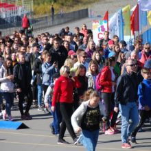 Сотни камчатцев приняли участие во Всероссийском дне ходьбы