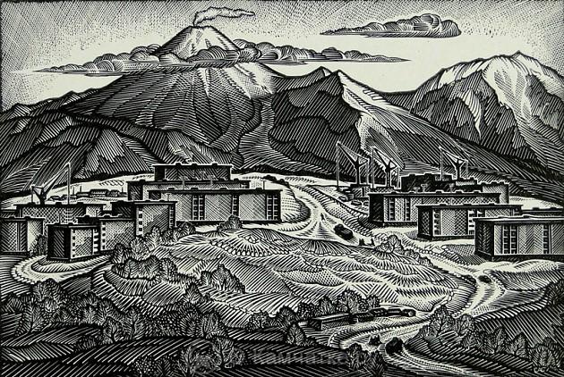 У подножия вулканов выставка произведений Сергея Степанова