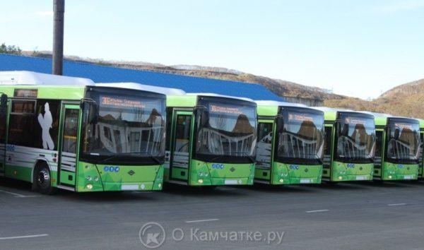 Новые пассажирские автобусы выйдут на линии Петропавловска-Камчатского