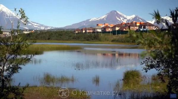 Озеро Медвежье где находится в Петропавловске-Камчатском