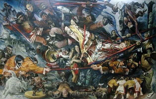 Выставка посвящается 80-летию со дня рождения Санакоева Вадима Владимировича, который был одним из самых ярких художников Камчатки