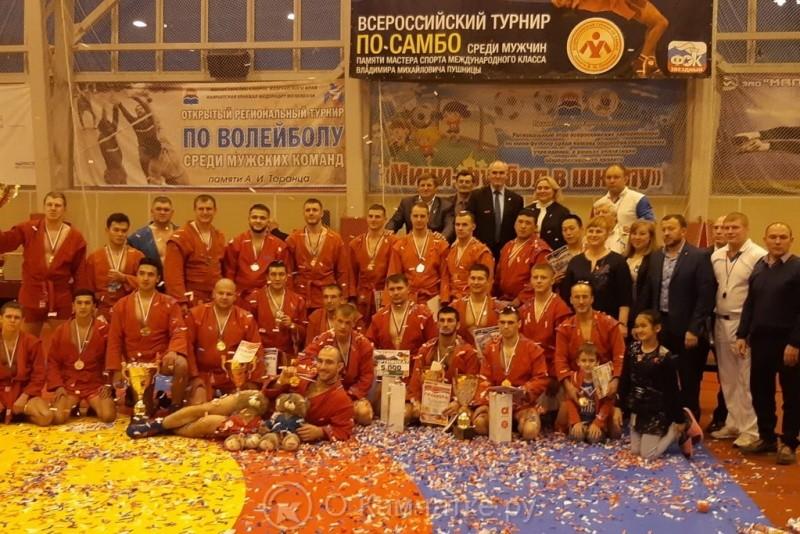 В Петропавловске-Камчатском прошли XVIII Всероссийские соревнования по самбо