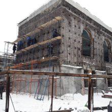 В Петропавловске-Камчатском продолжается реконструкция здания городского дома культуры «СРВ»
