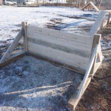 В Петропавловске-Камчатском завершилось обустройство первой площадки для дрессировки собак, ведется приемка