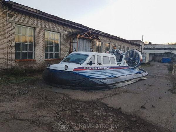 Заканчивается строительство трех судов на воздушной подушке для нужд Камчатки