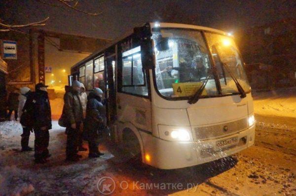 Автобусы в Петропавловске-Камчатском работают по расписанию