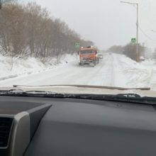 В связи с неблагоприятными погодными условиями дорожные службы Петропавловск-Камчатского городского округа перешли в круглосуточный режим работы