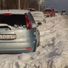 В Петропавловске-Камчатском продолжается ликвидация последствий циклона