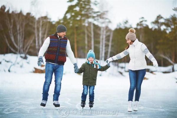 В период зимних каникул в Петропавловске-Камчатском будет организована работа пришкольных катков