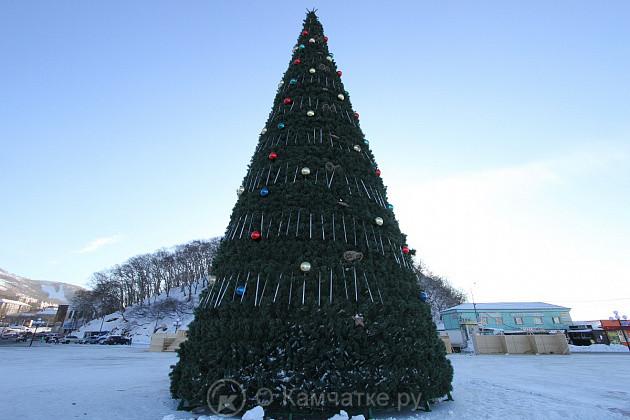 Петропавловск-Камчатский готовится ко встрече Нового года