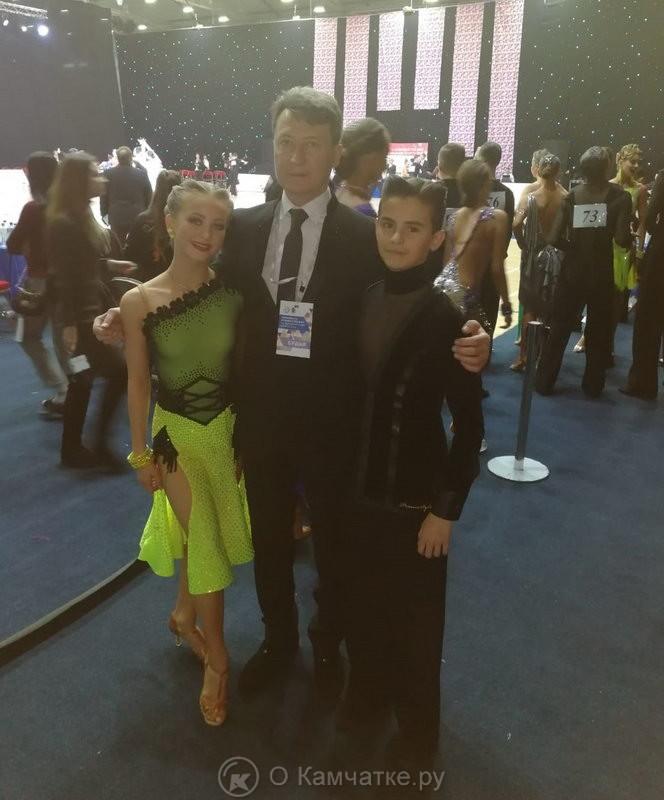 Ринат Самигуллин с воспитанниками