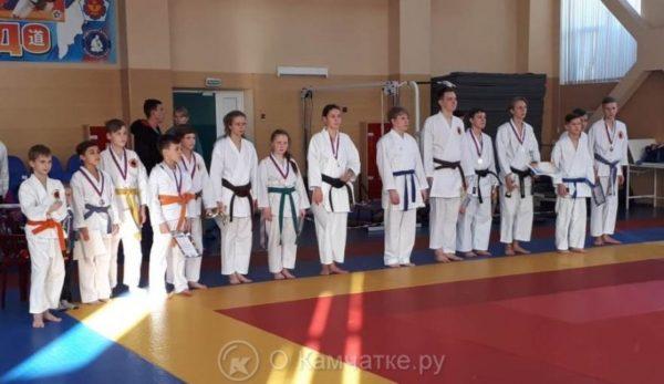 Более 100 юных бойцов приняли участие в соревнованиях Сётокан каратэ-до
