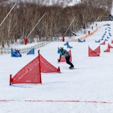 Гора «Морозная» приняла традиционные соревнования по сноуборду