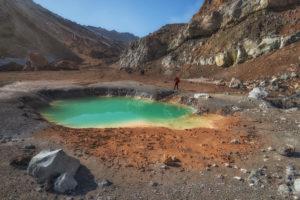 Иностранцы смогут посещать вулкан Мутновский без спецразрешения