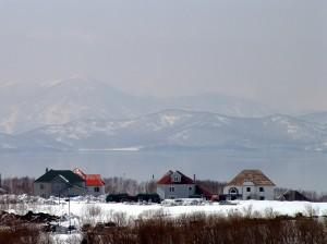 Домики в поселке на Топоркова